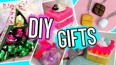 DIY Gifts Ideas for Christmas /Birthdays 2016! For BFF, parents, boyfrie...