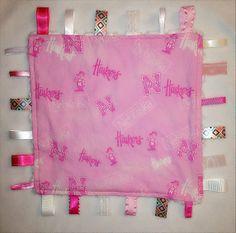 Husker Minky Tag Blanket by CashAndCari on Etsy, $15.00