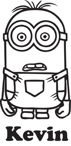 Minion naamsticker