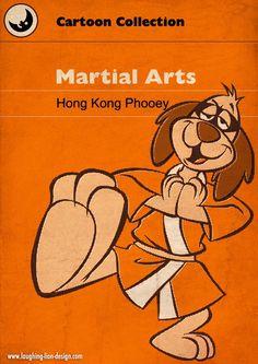Hong Kong Phooey 1 Silver Plated Spoon Featuring Hong Kong Phooey