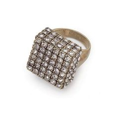 Lia Sophia Cubist Ring.