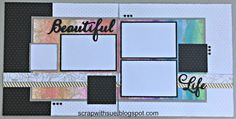 """Here's a sneak peek at just a portion of our National Scrapbooking Month kit, """"Live Beautifully,"""" coming next month!! This layout..."""