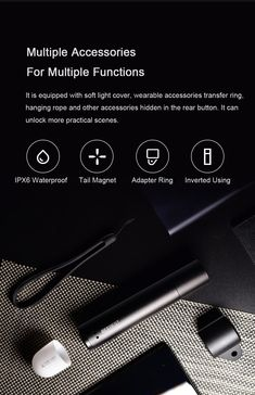 Xiaomi FZ101 BEEBEST XP-L HI 1000LM 5Modes Zoomable Portable EDC Flashlight Magnetic Tail Camping Tent Lamp & Bike Light Bike Light, Light Flashlight, Hanging Rope, Light Covers, Tent Camping, Other Accessories, Edc, Magnets, Lights