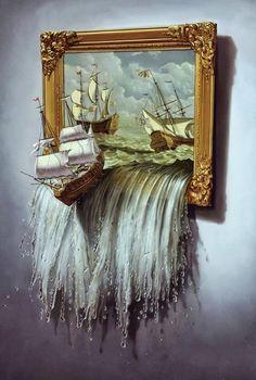 Art. Makes me think of narnia...