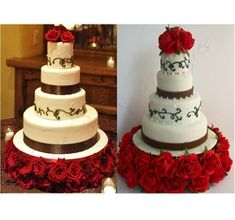 YOUR OWN Custom Wedding Cake Replica Ornament or Figurine! Perfect Wedding / Anniversary Gift! Contact for Free Quote! Jessie Raye's Miniatures - jessierayesminiatures.com