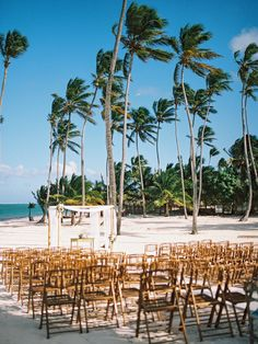 wedding ceremonies - photo by Asia Pimentel Photography http://ruffledblog.com/beach-destination-wedding-in-punta-cana