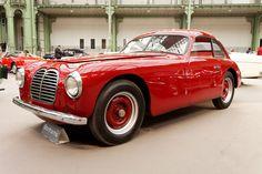 110 ans de l'automobile au Grand Palais - Maserati A6 1500 Coupé - 1949 - 001 - Maserati A6 — Wikipédia