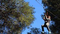 Parc Diver: tirolines a Coma-ruga. Info: http://www.youmekids.com/parc-diver-tirolines-coma-ruga/