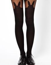 ASOS Bunny Over The Knee Tights