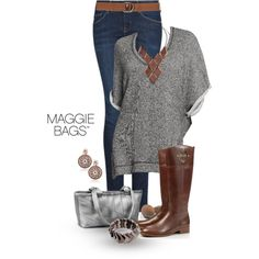 A fashion look from September 2013 featuring Old Navy sweatshirts, MANGO jeans and Tory Burch boots. Browse and shop related looks.