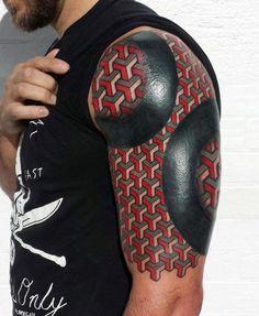 Shapes Half Sleeve Tattoos For Men Ideas