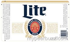 mybeerbuzz.com - Bringing Good Beers & Good People Together...: Miller Lite Extends Retro Packaging To Bottles