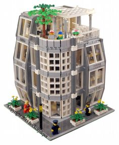 Architecture Firm - Modular Building: A LEGO® creation by Brian Lyles