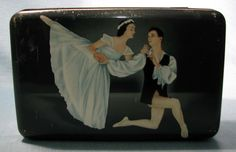 Vintage Hoadley'S Chocolates TIN Ballerina Ballet | eBay