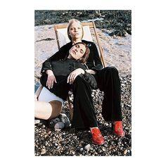 #putonyourredshoesanddancetheblues  stylist vanissa antonious @oneninetynine  Outtake from Vogue Italia.  #photography  #alinaasmus #style #vanissaantonious #hair @carolinacrona #makeup @angeladavisdeacon @thomastait @jw_anderson #fashion #vogue #vogueitalia #stylist #styling #ootd #editorial