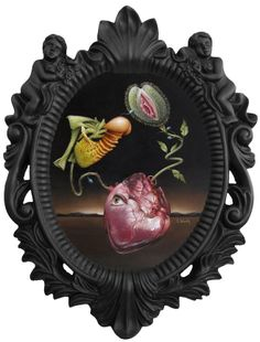 """Scott Scheidly - """"Love and Lust"""" - Oil on panel, 18 x 22 inches"""