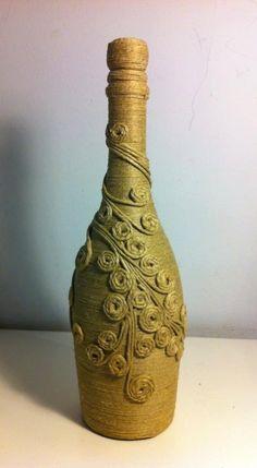 Resultado de imagem para pinterest garrafas decoradas