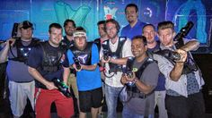 laser tag squad // #blakesbachelorparty // yes I won both times // #wolverine by kyleiente