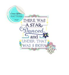 There was a star danced and under that was by plasticlittlecovers