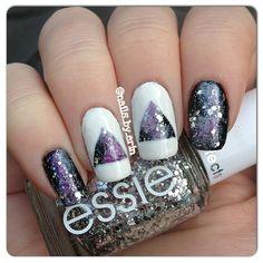 Galaxy Nails by Erin on Nailpolis