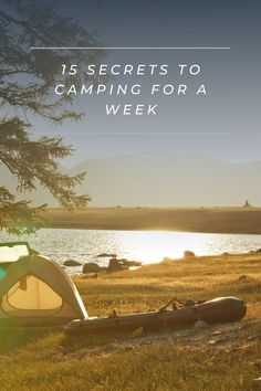 If you want to go camping for a week then read this article to prepare first. Airstream Camping, Travel Trailer Camping, Diy Camping, Family Camping, Tent Camping, Camping Gear, Camping Hacks, Outdoor Camping, Camping Supplies