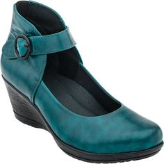 Dansko Rebel (Teal Burnished Nappa) --- LOVE this! I want them in every colour!
