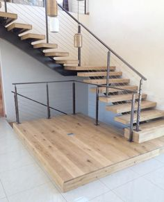 Wooden cladding done for a home staircase. Created a really nice finish to their entrance way Wooden Cladding, Entrance Ways, Really Cool Stuff, Stairs, Canning, Nice, Home Decor, Entry Ways, Stairway