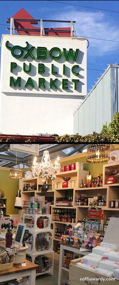 Oxbow Public Market - Napa, California #market #publicmarket #Napa #travel #food #bakery #pastry #bread