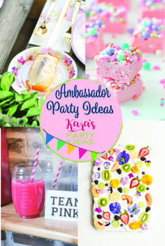 See all of the signature styled parties by Kara Allen of Kara's Party Ideas right here!  #brandambassador #ad