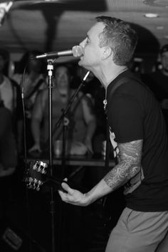 Dave Hause-boys that play instruments with tattoos....