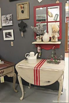 Vintage Drop Leaf Table Ideas Home – Decorating Ideas - Home Decor Ideas and Tips Paint Furniture, Furniture Projects, Furniture Making, Furniture Makeover, Furniture Cleaning, Furniture Layout, Cheap Furniture, Furniture Design, Repurposed Furniture