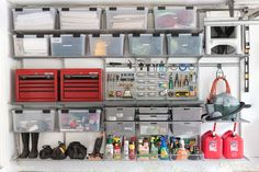 Garage Organization: Tackling Our Crazy Mess with Elfa | Driven by Decor