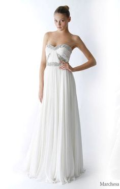 ♥TheWildChild♥: GRECIAN GODDESS WEDDING DRESS