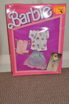 <3 Old Barbie Clothes