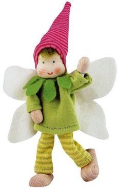 Kathe Kruse Posable Fairy Family - Brother - Everything Fairies