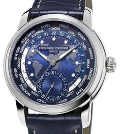 Watch of the day : Frederique Constant Classics Manufacture Worldtimer Navy Blue @frederiqueconst #watch #watches #luxury #watchporn #luxurywatch #wiwt #watchoftheday #WOTD #chronollection #timepeice #frederiqueconstant