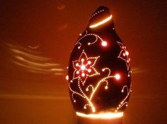 Luminárias de Cabaça na Decoração de ambientes