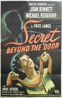 Secret Beyond the Door... (1948) is a psychological thriller and modern updating of the Bluebeard fairytale, directed by Fritz Lang, produced by Lang's Diana Productions, and released by Universal Pictures. The film starred Joan Bennett and was produced by her husband Walter Wanger. The black-and-white film noir drama is about a woman who suspects her new husband, an architect, plans to kill her.