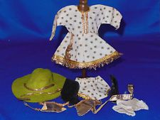 Vintage Vogue Ginny Doll Outfit 1952 Rodeo Girl