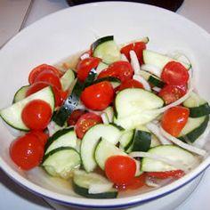 Cucumber Tomato Salad Allrecipes.com
