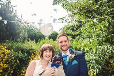 Bride and Groom // Dog // East Yorkshire Wedding & Lifestyle Photography | Inspire Images | inspirephotos.co.uk