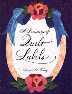 A Treasury of Quilt Labels by McKelvey, Susan Paperback Book The Fast Free 9780914881605 Quilt Labels, Waste Paper, The Secret History, World Of Books, Book Quilt, Book Binding, Book Crafts, Paperback Books, Quilt Patterns
