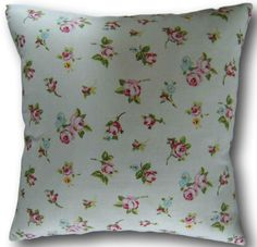 Pink Cushion Covers Rosebud Chintz Pink Retro Design Clarke and Clarke Fabric Floral Cushions, Scatter Cushions, Throw Pillows, Pink Cushion Covers, Clarke And Clarke Fabric, Retro Design, Rose Buds, Bedding, Ebay