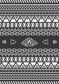 Aztec Tribal Print