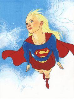 Supergirl by Joshua Middleton // DC Comics