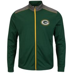 You've been looking forward to the NFL season; make sure you get the look of your team when you grab this Majestic Buffalo Bills Team Tech full-zip jacket. This sweet top features bold Buffalo Bills graphics on a classic cut that you'll love showing off. Green Bay Packers Jacket, Green Jacket, Cincinnati Bengals, Indianapolis Colts, Nfl Sweatshirts, Green Leather Jackets, New York Giants, New England Patriots, Zip