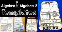 quick check math algebra quick check Algebra and Algebra 2 Warm-up Templates