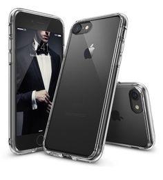 iPhone 7 Case Ringke Fusion Crystal Clear PC Back TPU Bumper Drop Raised 7   eBay