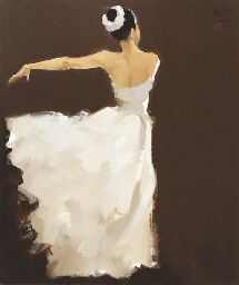 View Ballerina by Nguyen Thanh Binh on artnet. Browse upcoming and past auction lots by Nguyen Thanh Binh. Ballet Art, Ballet Painting, Wow Art, Art Graphique, Art For Art Sake, Art And Architecture, Beautiful Artwork, Contemporary Artists, Painting & Drawing
