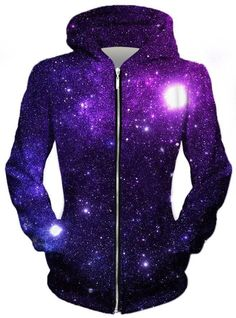 The Source for Rave Wear and EDM Inspired Apparel This Zip-Up Hoodie is made with Pre-Shrunk Stretch Premium Microfiber Polyester and hand-finished to ensure y. Galaxy Outfit, Galaxy Shoes, Girls Fashion Clothes, Girl Fashion, Fashion Outfits, Teenager Outfits, Outfits For Teens, Pretty Dresses, Pretty Outfits